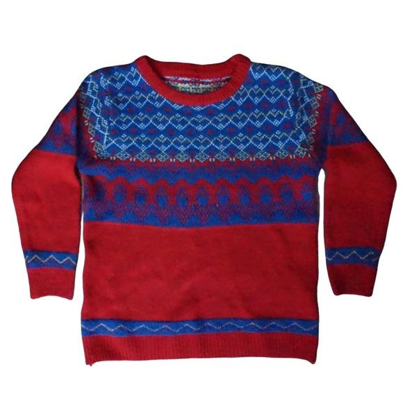 Sweaters - Fair Isle/Nordic Style Sweater